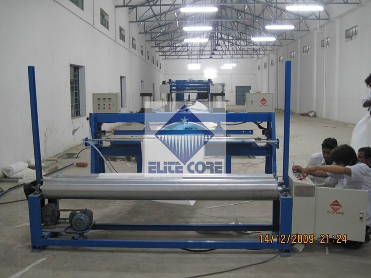 ECMT-119 Foam Sheets Metering & Rewinding Machine