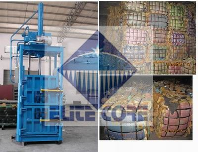 ECMT-120 Scrap Foam Baling Machine